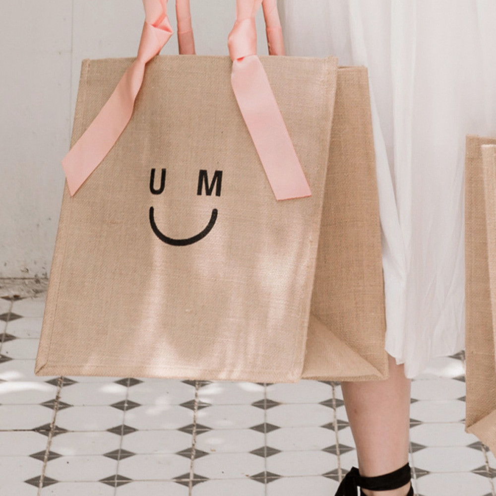 [ESSENTIAL BY UM] UM SMILE SHOPPER - PEACH
