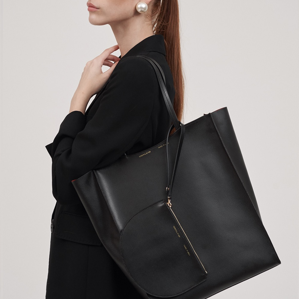 [ESSENTIAL BY UM] Dales Shopper - Black