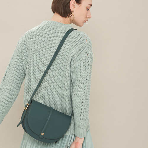 [ESSENTIAL BY UM] HALF MOON JUMBO - SEAFOAM GREEN