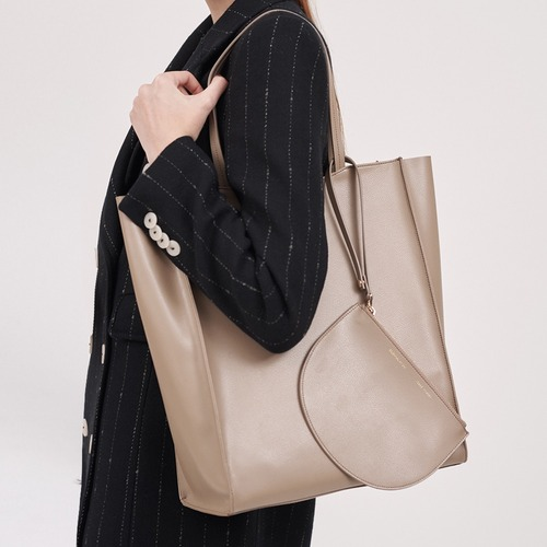 [ESSENTIAL BY UM] DALES SHOPPER - Moca Beige