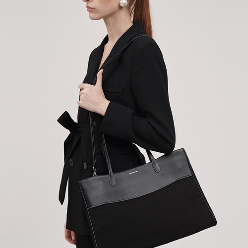 [ESSENTIAL BY UM] DALES BAG - Black