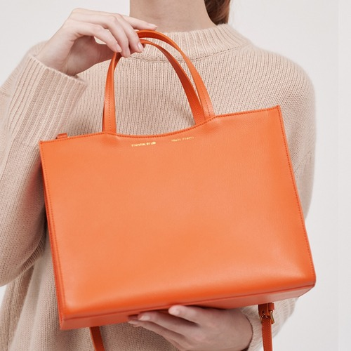 [ESSENTIAL BY UM] DALES TOTE - Cali Orange