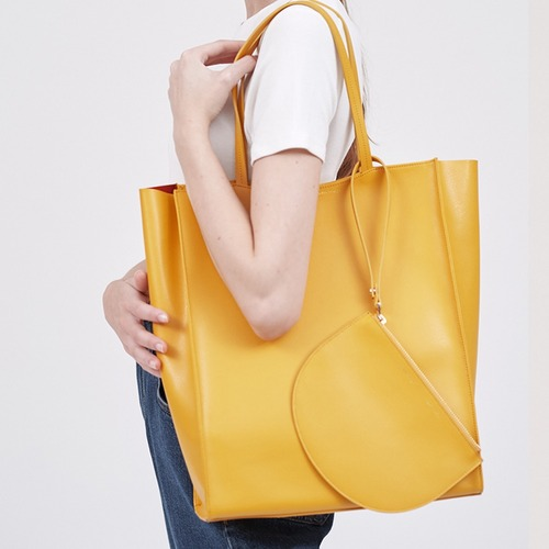 [ESSENTIAL BY UM] DALES SHOPPER - Canary Yellow